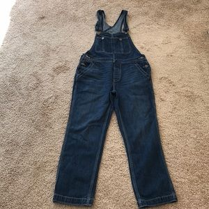 We the free size 26, denim overalls .
